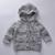 Niños Chaquetas de invierno 2016 Niñas Chaqueta de punto de la manga completa ropa de Las Muchachas kintted Bobo choses muchachos de Los Niños ropa de Abrigo