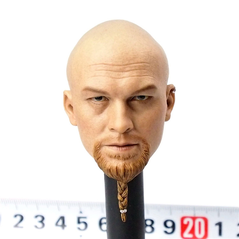 Limited Edition SF002 1/6 Scale Frank Casey Head Sculpt Male Head With Removable Beard Freeshipping laser head sf 860 sf hd860