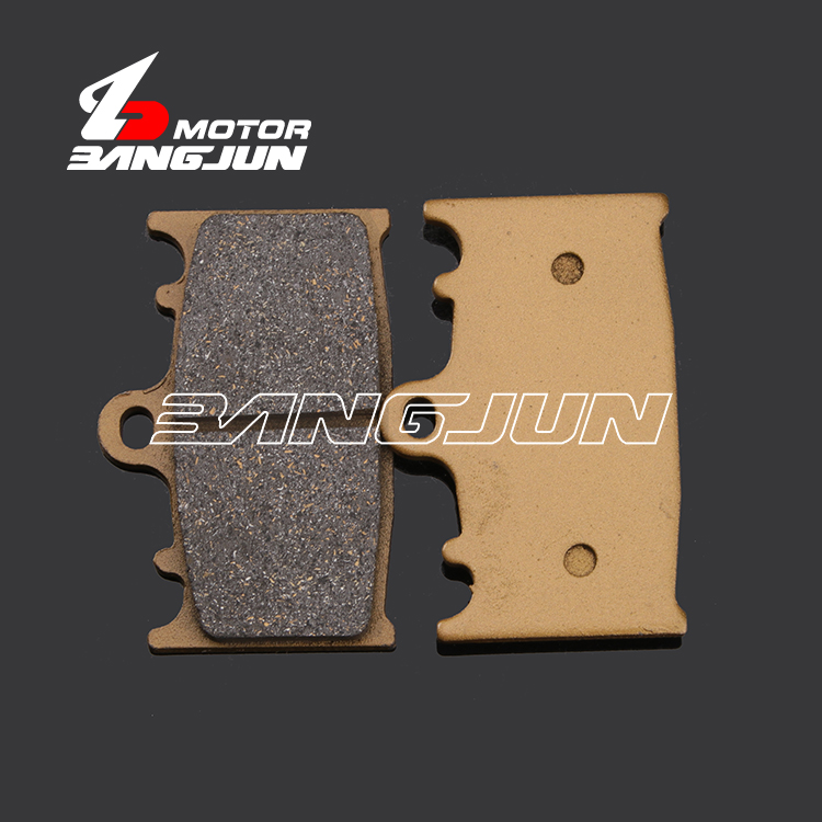 Передние медные Металлические тормозные колодки для мотоциклов SUZUKI GSXR600/750 GSF650 GSX650 SV1000 TL1000