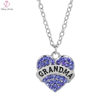 Grandma Mothers Day Gift. Love Necklace