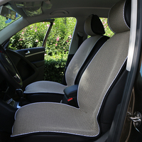 O SHI CAR seat cover protection automobile interior/Sales 2 front car seat cushion or 1 back seat mat suit most car SUV truck