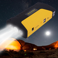 68000ma Multifunctional Portable Cars Auto Emergency Start Car Jump Starter Power Bank With Three Lights Engine
