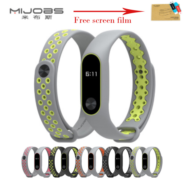 Newest For Xiaomi Mi Band 2 Strap Miband 2 Bracelet Wristband Replacement Smart Band Accessories For Mi Band 2 Silicone