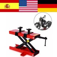 Stand Center Scissor Lift Hoist Workshop Bench 500KG for Motorcycle Motorbike Bike