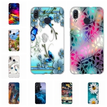 For Asus Zenfone Max M1 ZB555KL Case Soft TPU Cover Trees Patterned Funda