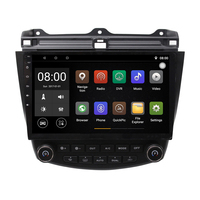 Android Car DVD Player GPS Navigation System for Honda Accord 2003 2004 2005 2006 2007 Single or Dual zone Climate Control Radio