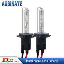One pair 55W Xenon HID Bulb Headlight Lamp Auto Car H1 H3 H7 H8 H9 H10 H11 9005 9006 HB3 HB4 D2S D2C 4300K 6000K 8000K 10000K(China)