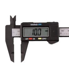 150 мм 6 дюймов lcd цифровая линейка Электронный штангенциркуль из углеродного волокна Калибр микрометр Измерительный Инструмент Калибр цифровой#30