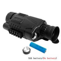 Night Vision Monocular 5 x 40 Infrared Night Vision infrared Scope for Hunting Telescope long range with built in Camera Video