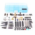 Pro Tattoo Machine Repair DIY Kit Tattoo Parts Accessories set Tatttoo Machine repairing & Maintaining Kits Supplies with Box