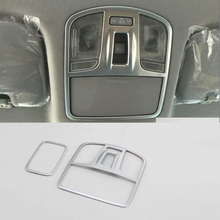 Car Accessories Interior Front&Rear Reading Light Lamp Cover Trim For Hyundai Elantra 2018 Car-styling