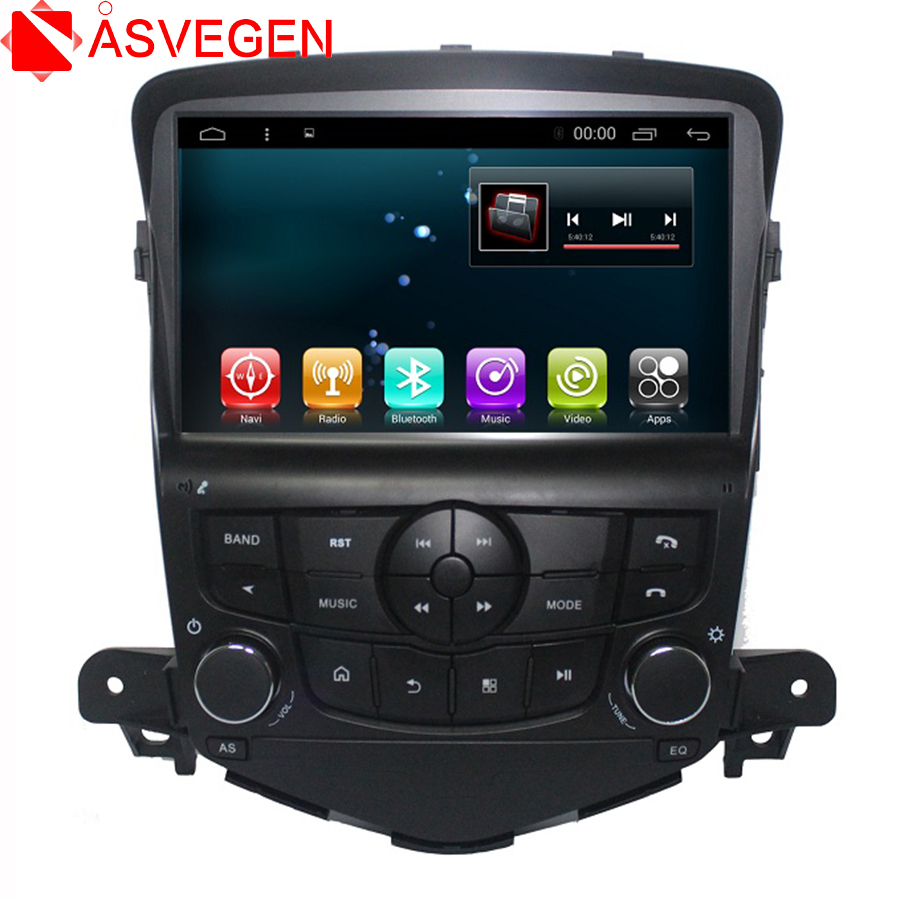 Touch Screen Android 7.1 For <font><b>Chevrolet</b></font> <font><b>Cruze</b></font> 2008-<font><b>2011</b></font> Quad Core Car Radio Multimedia GPS Navigation Audio DVD Player image