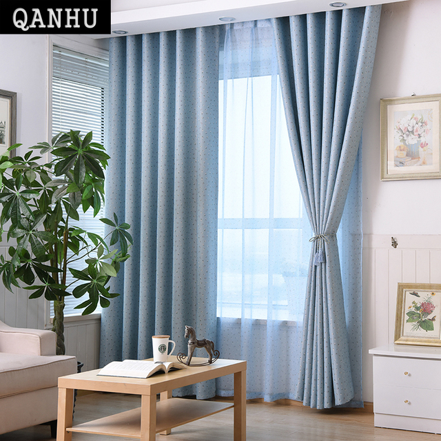 Money Lake Flower Blue Purple Purple Window Living Room Sunrise Bedroom  Living Room Window Modern Curtains