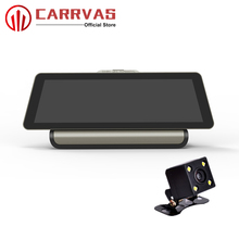 CARRVAS Android 5.0 DVR Car Navigation 9.88 inch 1600*400 HD 1080P Car GPS Navigator With Camera WiFi Bluetooth G-Sensor FM DVR цена в Москве и Питере