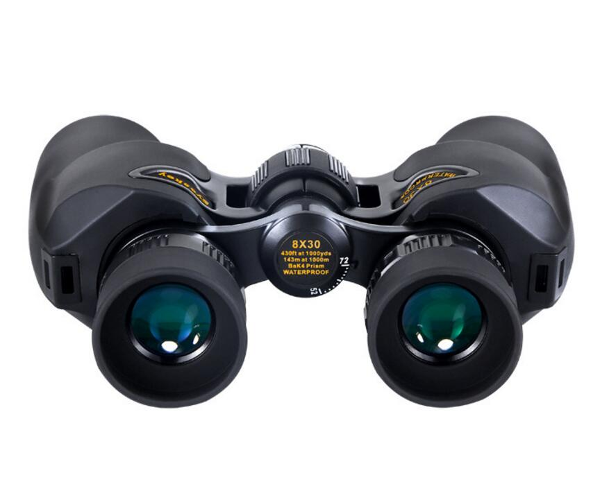 Eyeskey 8x Binocular 8730 Telescope 8x30 Binoculars BAK4 Prism Optics Camping Hunting Scopes bird watching fast shipping in Monocular Binoculars from Sports Entertainment