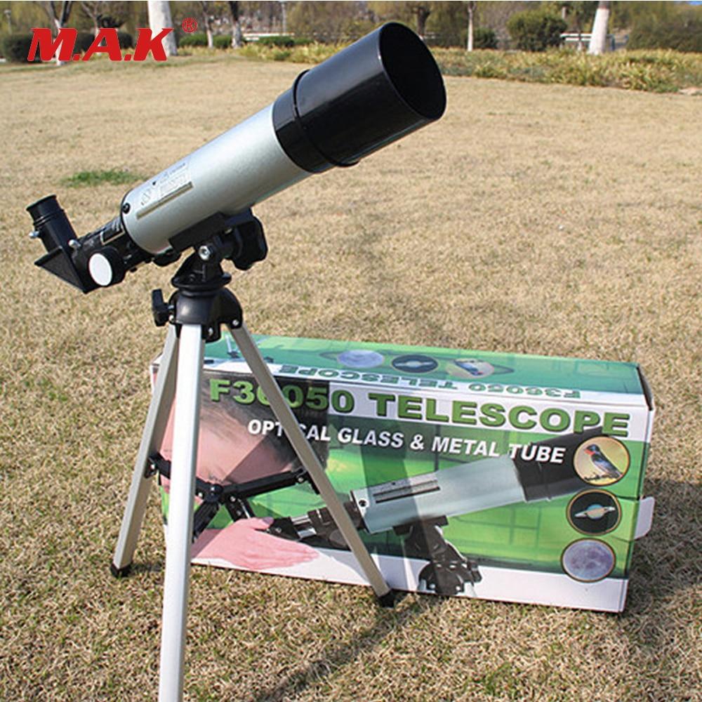 Астрономических телескопов Профессиональный Монокуляр 60X зум F36050 Telescopio астрономическая телескоп HD пространство Зрительная труба 360/50 мм