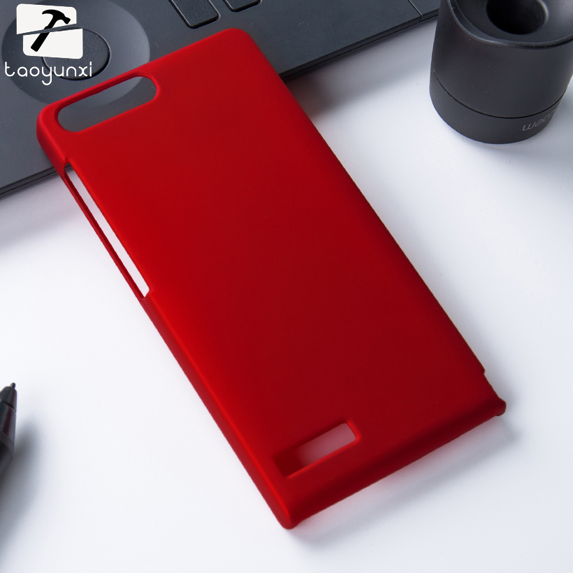 TAOYUNXI Matte Phone Cases For Huawei Ascend G6 4G LTE G6-L11 P7 Mini Covers 4.5 Frosted Anti-knock Mobile Phone Accessories
