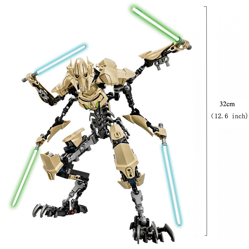 Blocks Star Wars Buildable Action Figure Toys for Kids 18