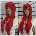Wholesale price Hot Sell TSC ^^^^^New Wig Hierarchical Red Wig Long Straight Hair  Alice Hair wigs