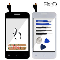 Touch Panel Lens Sensor Capacitive Touchscreen For FLY IQ434 IQ 434 Touch Screen Digitizer Front Glass