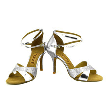 YOVE Dance Shoes Women's Latin/ Salsa Dance Shoes 3.5″ Slim High Heel More Color w1610-31