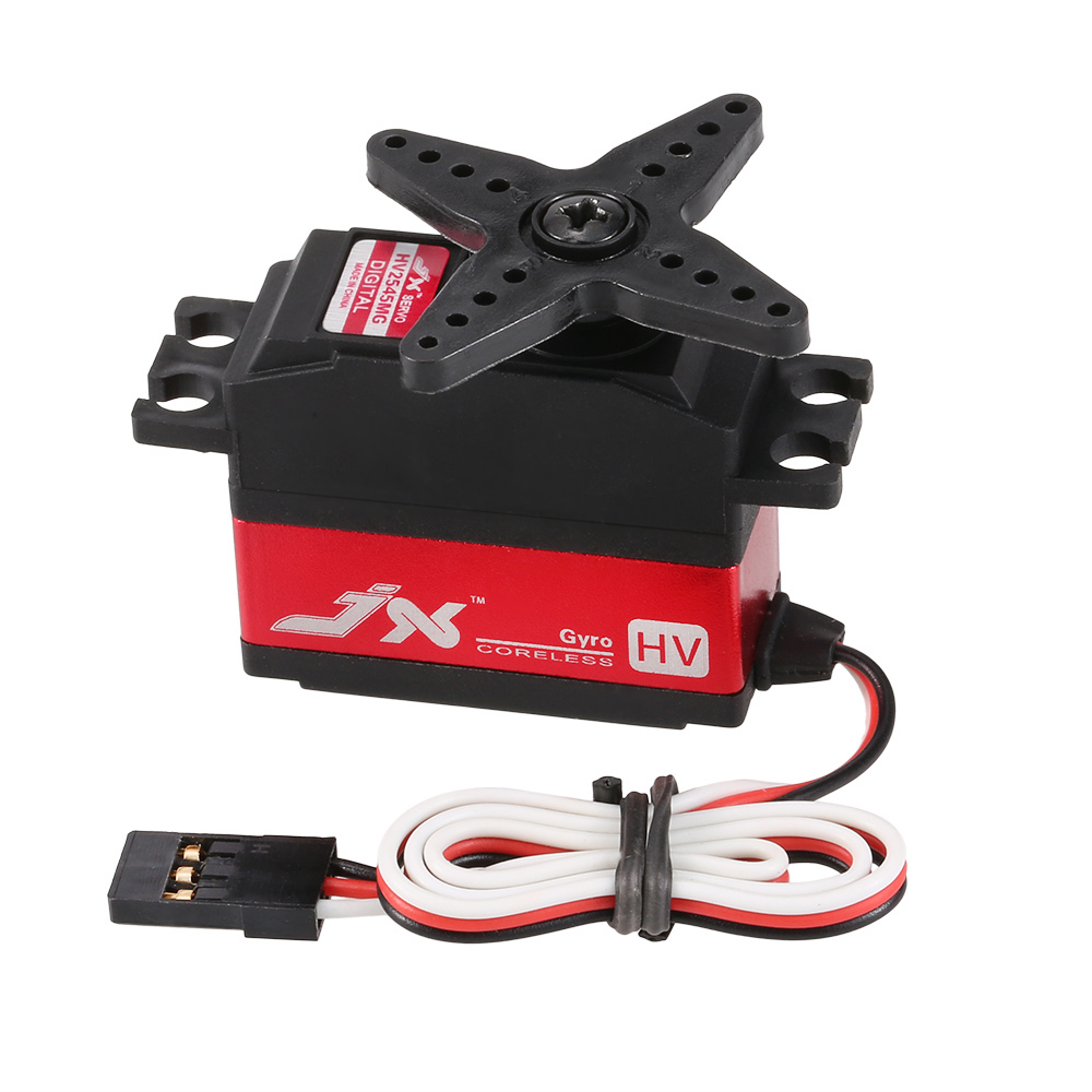 JX PDI-HV2545MG 25g Metal Gear Digital High Voltage Tail Servo for RC 450 500 Helicopter Fixed-wing AirplaneJX PDI-HV2545MG 25g Metal Gear Digital High Voltage Tail Servo for RC 450 500 Helicopter Fixed-wing Airplane