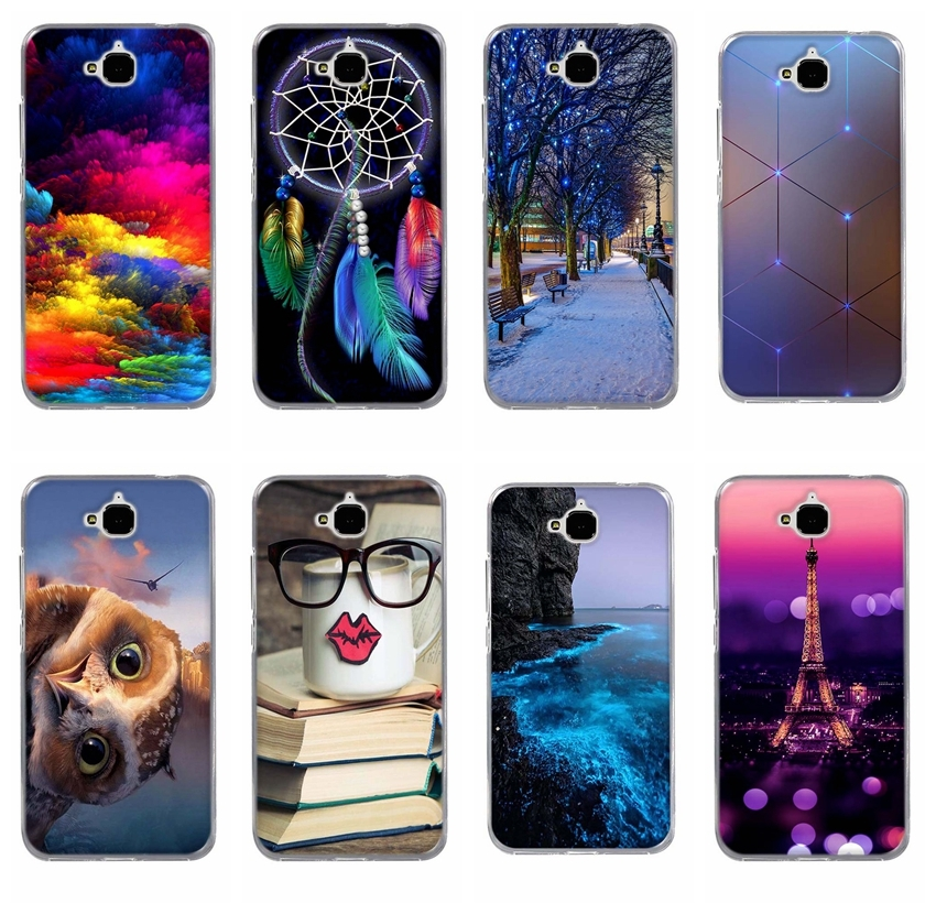 For Huawei Honor 4C Pro Case Cover TPU Silicone Honor 4C Pro Case Cover Shell For Huawei Y6 Pro Case TIT-L01 TIT-TL00 Coque Capa