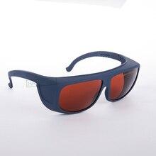 CE EN207 gafas de seguridad de laser con OD 4 + CE para 190-540nm y 405-473nm 800-1700nm 266 355 532 808 810 830 980 1064 nm 1470nm