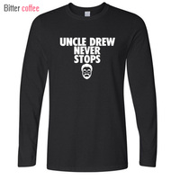 New Autumn Winter Novelty Kyrie Irving T Shirt Men S Uncle Drew Jersey O Neck Long