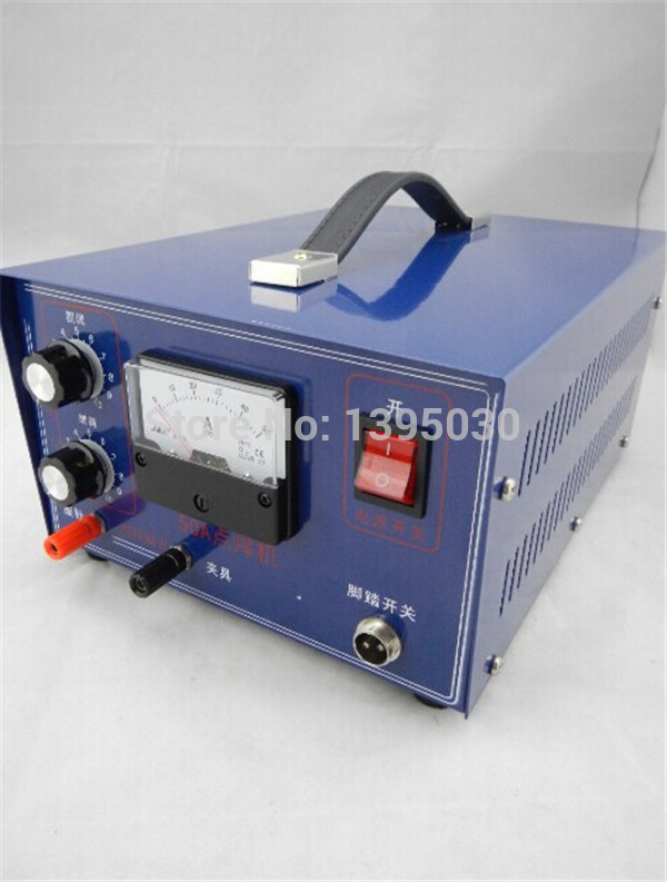 HOT!!! ARC 400W 50A Electric Sopt Welder  WELDING MACHINE 220V/110V Spot Welders     - title=