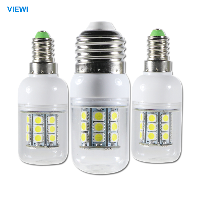5X 24 volt led bulbs 12v E14 E27 G9 5w corn lamp smd 5050