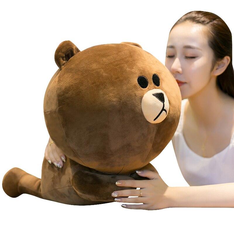 60 cm tamaño grande suave más caliente de Corea oso conejo pato peluche regordete juguete muñeca para niños regalo de cumpleaños o La decoración del hogar