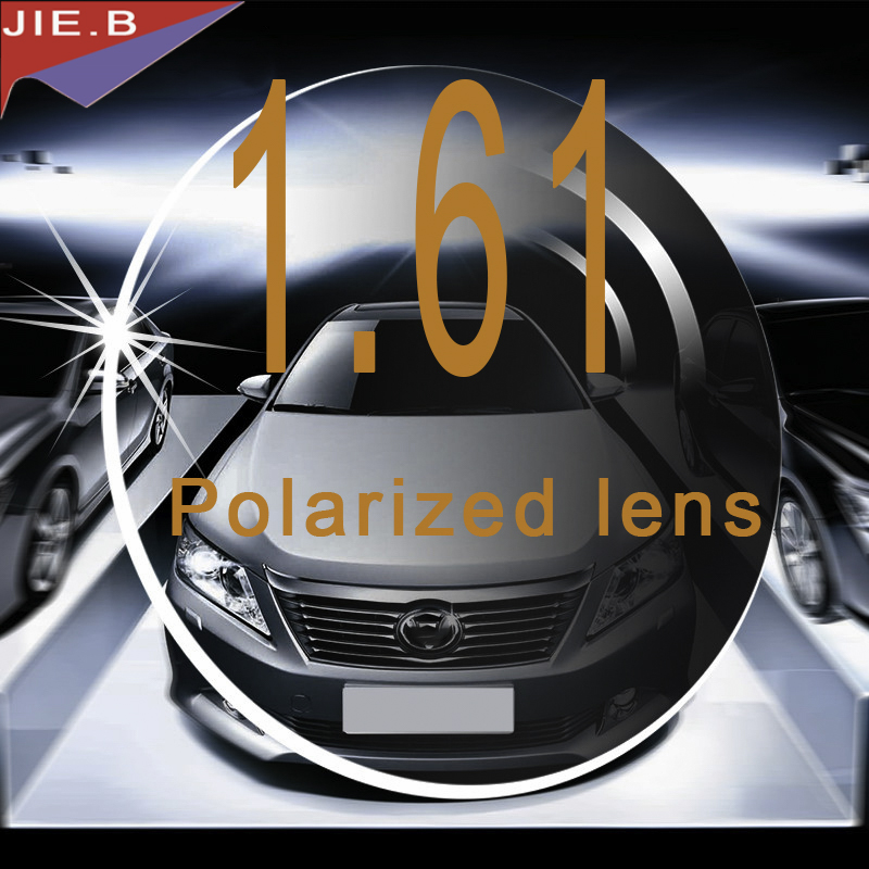 1.61 indice Top qualité conduite polarisation Prescription optique myopie hyperopie lentille lunettes pour lunettes lunettes 2 pc