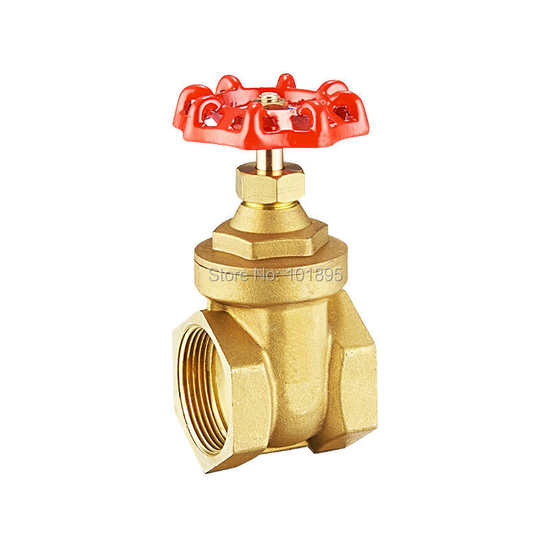 Good Quality DN100 of Brass Material Water Pipe Gate Valve X23102