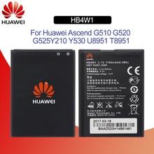 Original Battery For HUAWEI HB4W1 1700mAh For Huawei Ascend Y210 G510 G520 G525 C8813 C8813Q U8951D Replacement Phone Battery чехол для для мобильных телефонов zf pc huawei ascend g520 g525 ultratin fress for huawei g520