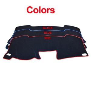 Image 3 - TAIJS cubierta para salpicadero de coche alfombrilla antideslizante para salpicadero de Ford Focus 3 MK3 2012 2013 2014 2015 2016 2017 2018