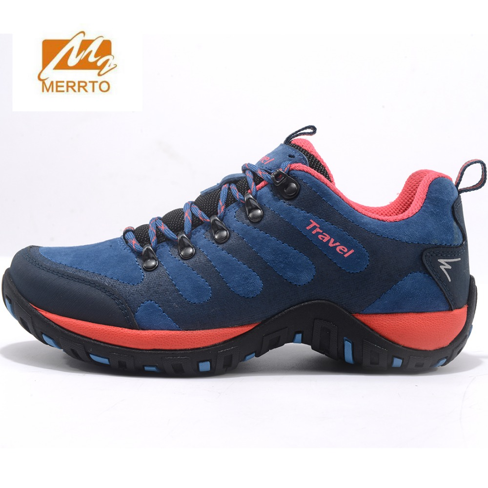 MERRTO Women's Fall And Winter Outdoor Hiking Trekking Sneakers Shoes Footwear For Women Sports Climbing Mountain Shoes Woman 2017 womens sports summer outdoor hiking trekking aqua shoes sandals sneakers for women sport climbing mountain shoes woman