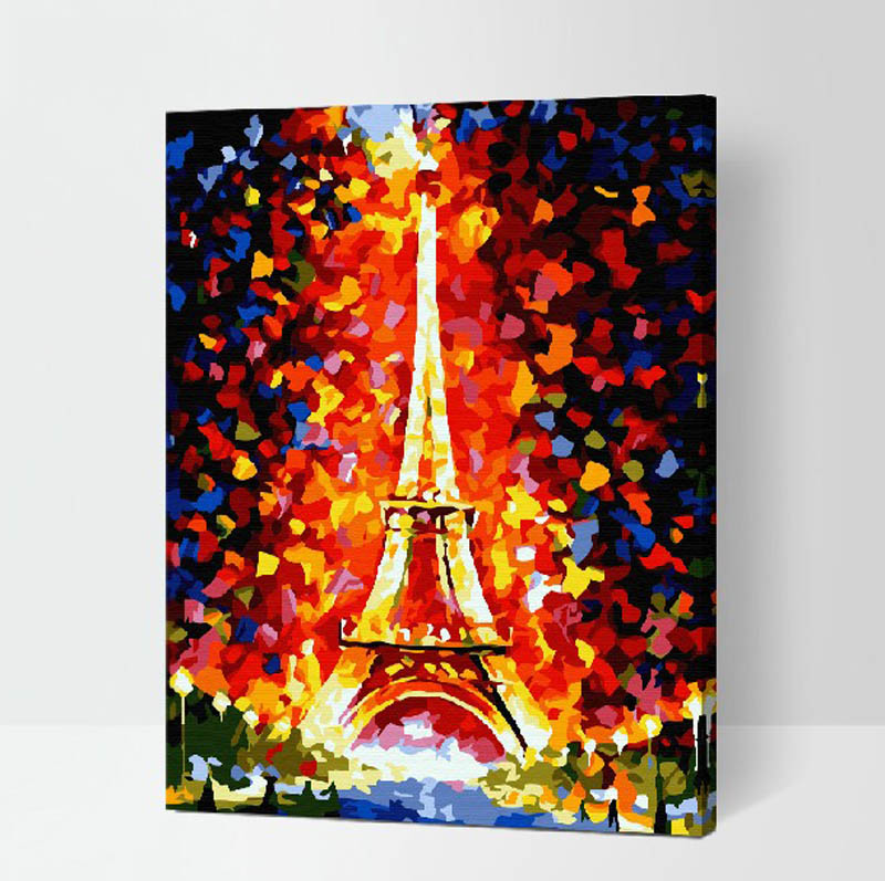 Special offer authentic DIY digital painting love companion wedding tenant hall 40*50 love of & Popular Eiffel Tower Paper Plates-Buy Cheap Eiffel Tower Paper ...