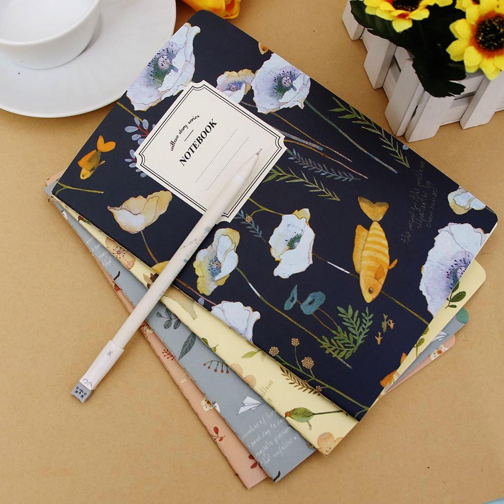 Hot 1 stks Leuke Natuur Dier Plant A5 Notebook 32 Pagina Notepad - Notitieblokken en schrijfblokken bedrukken - Foto 3