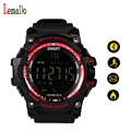 LEMADO New Sport EX16 smart watch 24 hours real-time sport monitoring remote camera call & SMS notifications wristwatch
