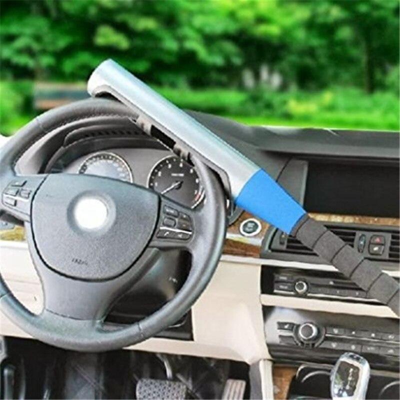 Universal Blue Baseball Bat Style Automobile Car Anti-theft Steering Wheel Lock Accessories Useful Safety Theftproof Lock Car-st