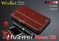Huawei Honor X2 Case Cover New Original Luxury Flip Phone Tablet Wallet Leather Cover For Huawei