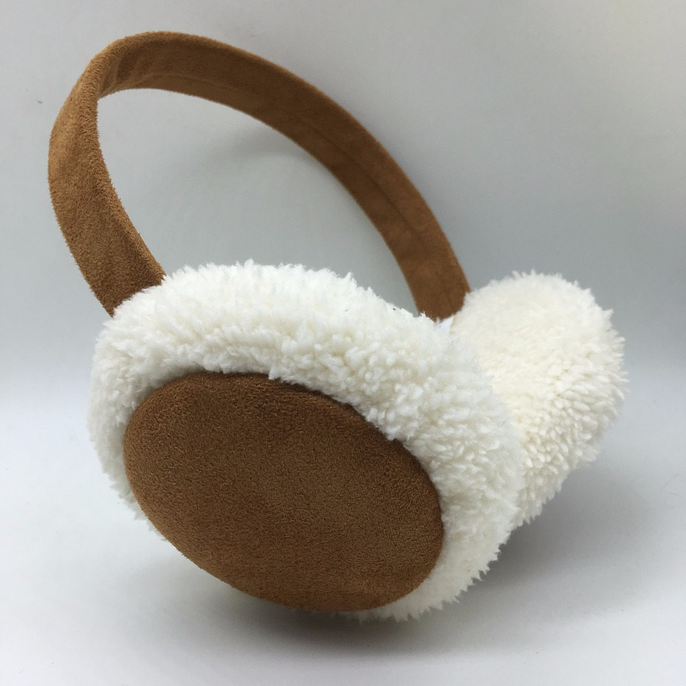 Winter  Folding Warm Earmuffs Women Fashion Earmuffs Outdoor Earflap