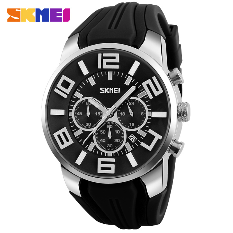 men sports watch SKMEI fashion brand men quartz watch rubber band 30M waterproof wristwatches male stopwatch relogio masculino skmei 1016 water resistance sports led watch with japan double movt date day alarm stopwatch function rubber band