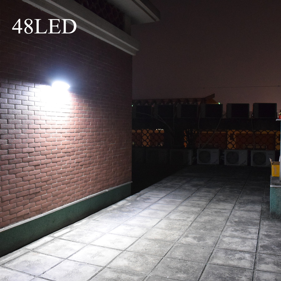 LEVOU ao ar livre Luzes Solares 48