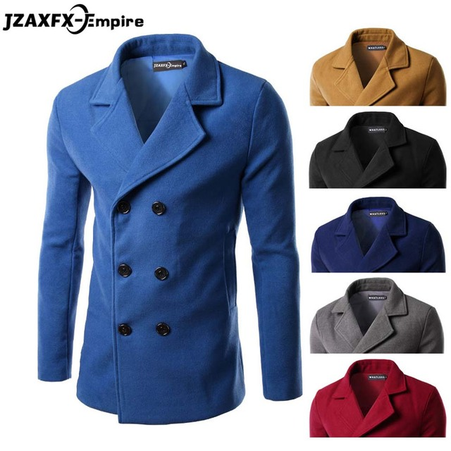 long coat men New Arrival Men Causl Trench High Quality Classic Design Men Winter Autumn Coats Long Sleeve Slim Fit Man Clothing