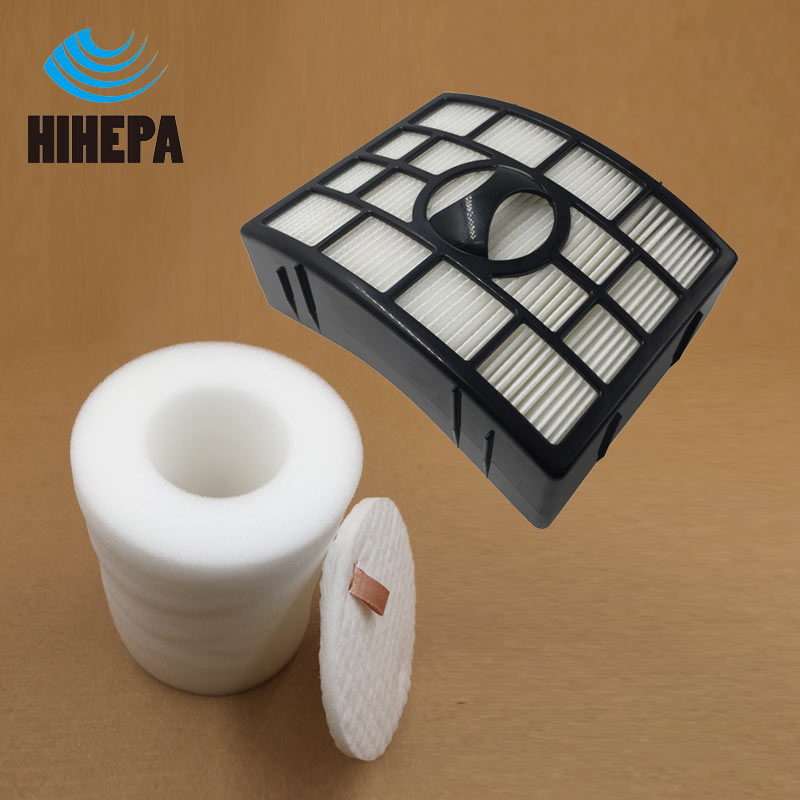 1 set Foam & Felt Hepa Filter for Shark Rotator Powered Lift-Away Upright NV755 UV795 Vacuum Cleaner parts fit XFF755 XHF650 2pcs vacuum cleaner foam felt filters for shark rotator nv450 nv200 200c nv200q nv201 nv202 202c nv472 nv480 fit model xff450