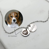 Custom Portrait Personalized Gift Dog Mom Gift Pet Lovers Pet Memorial Dog memorial Cat Best Gifts