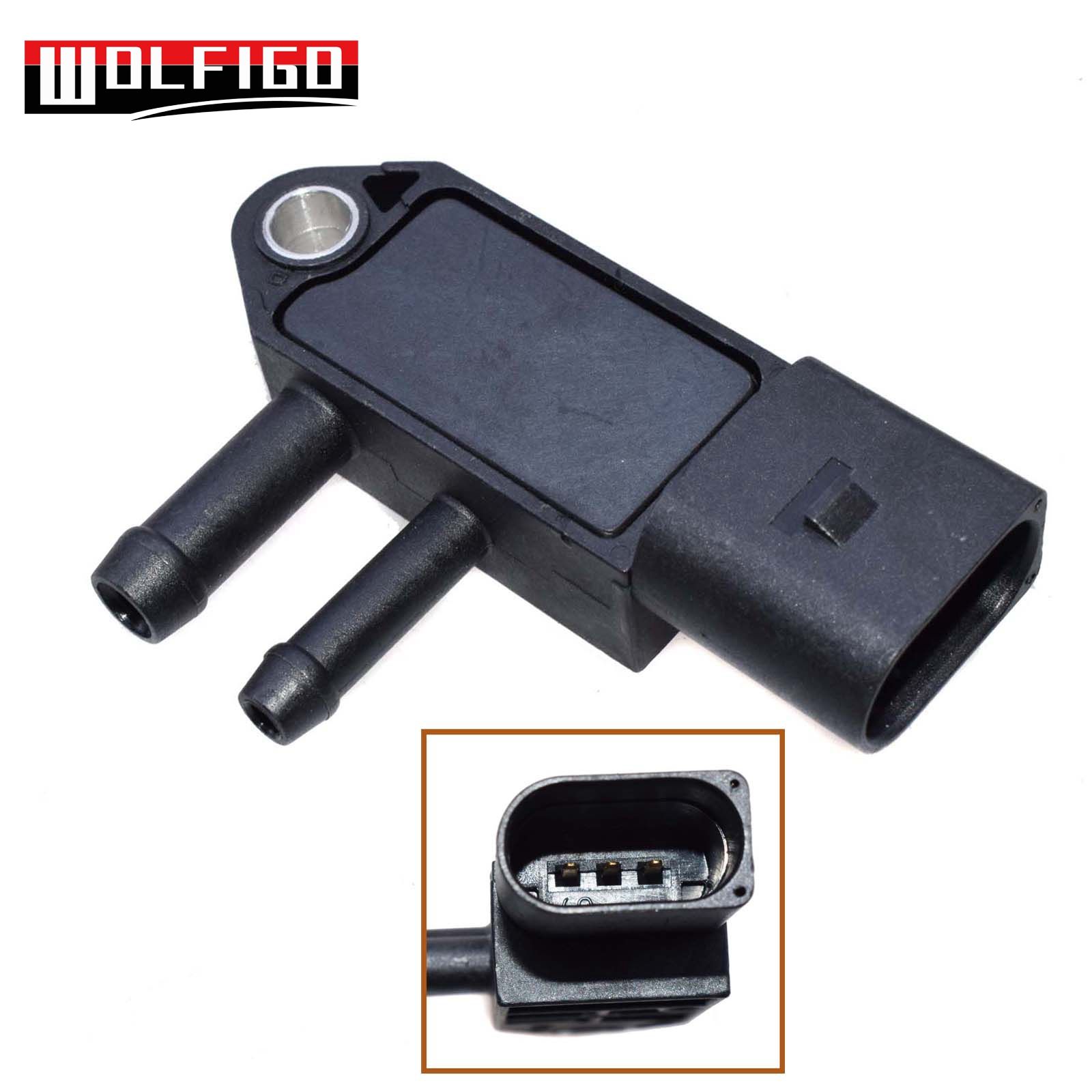 VW Audi Seat Skoda DPF pressure sensor 076906051A 0 281 002 710