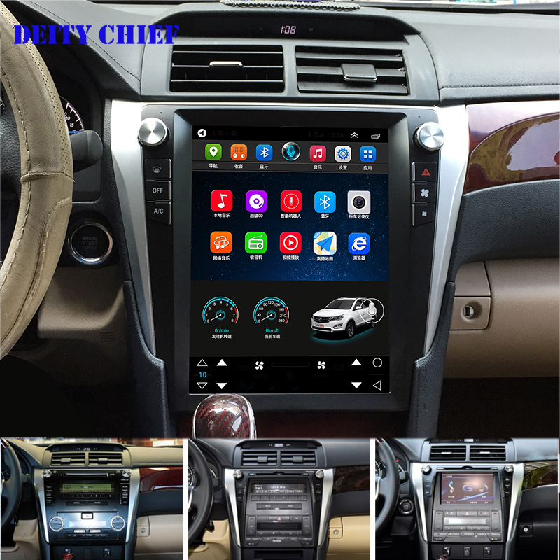 12 1 inch Android 32GB Multimedia Player for Toyota Camry 2012 2017 radio GPS Navigation Player
